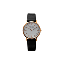 Unisex rosegold plated stainless steel white