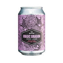 Magic Dragon Hemp Lager, ØKO, 33 cl.